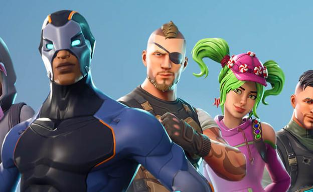 דמויות מהמשחק פורטנייט (צילום: מתוך המשחק)