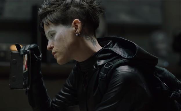 הנערה ברשת העכביש (צילום: צילום מסך; יוטיוב - Sony Pictures Entertainment)