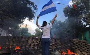 מהומות בניקרגואה (צילום: דודו אטר)