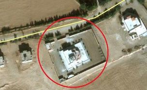 ישראל תקפה? המבנה שהופצץ (צילום: חדשות)