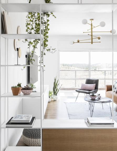 דירה בבאר שבע, ג, עיצוב כרמית גת, סלון - 4 (צילום: איתי בנית)