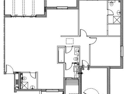 דירה בבאר שבע, עיצוב כרמית גת, העמדה חדשה (שרטוט: כרמית גת)