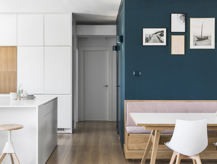 דירה בבאר שבע, עיצוב כרמית גת, מטבח - 9 (צילום: איתי בנית)