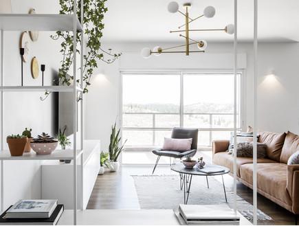 דירה בבאר שבע, עיצוב כרמית גת, סלון - 3