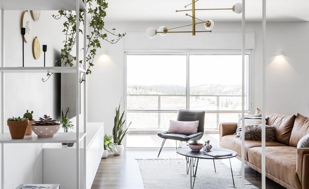 דירה בבאר שבע, עיצוב כרמית גת, סלון - 3 (צילום: איתי בנית)