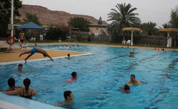 הבריכה בקיבוץ קטורה (צילום: ניצן גולן)