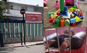 הורים שילדיהם עברו התעללות בגן (צילום: החדשות, רויטרס, נויה בר-און)