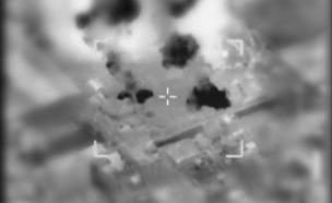 """תקיפות צב""""ל בצפון רצועת עזה (צילום: דובר צה""""ל, חדשות)"""