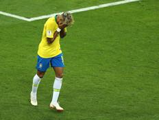 ניימאר בנבחרת ברזיל נגד שוויץ (מונדיאל 2018) (צילום: Catherine Ivill / Staff, getty images)