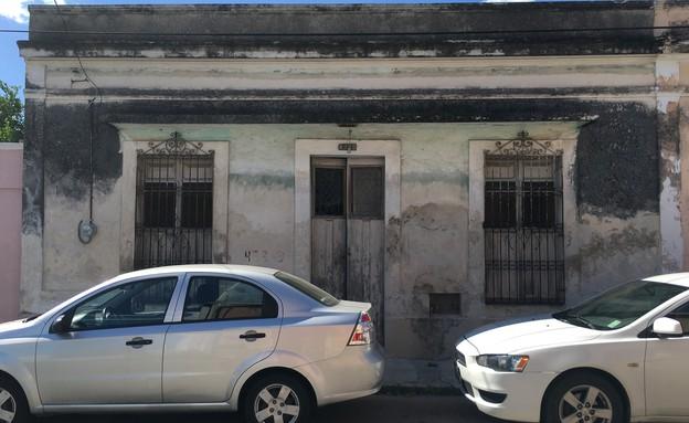 בית במקסיקו, לפני השיפוץ - 2 (צילום: Punto Arquitectónico)