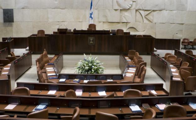 אולם מליאת הכנסת (צילום: Dmitry Pistrov, Shutterstock)