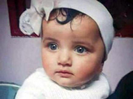 התינוקת הפלסטינית לילה בן ג'נדור