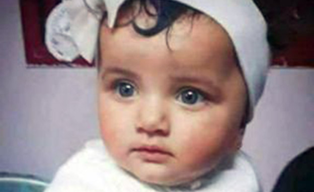 התינוקת הפלסטינית לילה בן ג'נדור (צילום: חדשות)