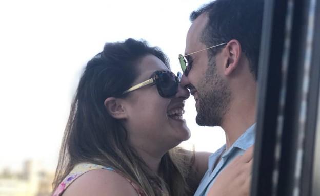 שני קליין ובן הזוג (צילום: מתוך עמוד האינסטגרם של שני קליין)