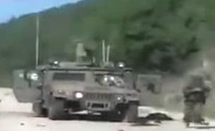 תיעוד של חיזבאללה מאירוע החטיפה ב-2006 (צילום: חדשות)