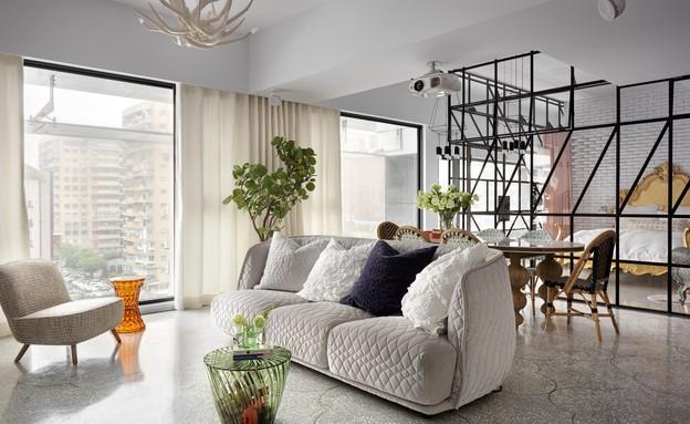 דירה בטאיוואן, צילום Kyleyu Photo Studio (1) (צילום: Kyleyu Photo Studio)