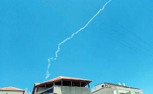 שיגור טיל הפטריוט, השבוע (צילום: חדשות)