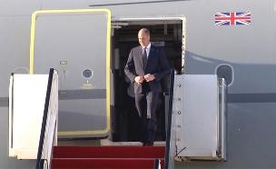 הנסיך ויליאם מבקר בישראל (צילום: החדשות)