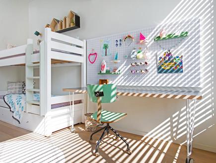 דירה בנורדאו, עיצוב מיכל גלברט דורון, חדר ילדים -13