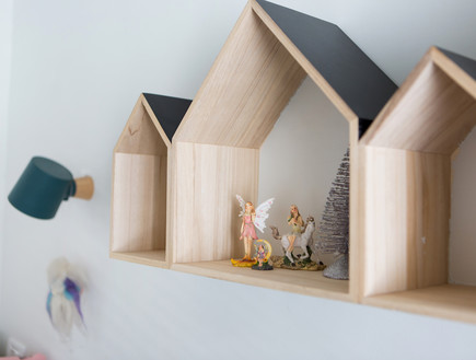 דירה בנורדאו, עיצוב מיכל גלברט דורון, חדר ילדים -14
