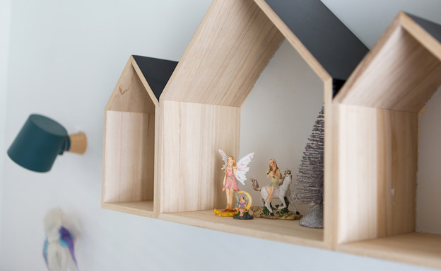 דירה בנורדאו, עיצוב מיכל גלברט דורון, חדר ילדים -14 (צילום: שירן כרמל)