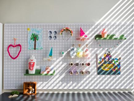 דירה בנורדאו, עיצוב מיכל גלברט דורון, חדר ילדים - 15