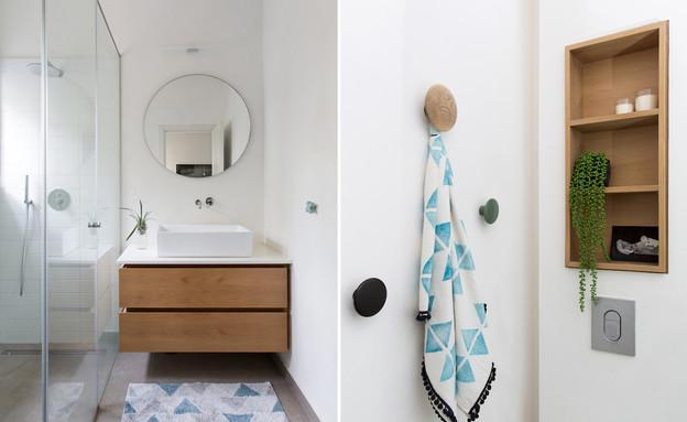דירה בנורדאו, עיצוב מיכל גלברט דורון, חדר שינה - 21 (צילום: שירן כרמל)