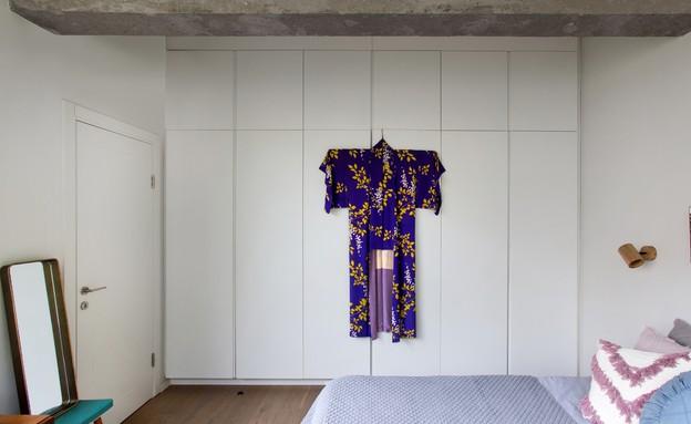 דירה בנורדאו, עיצוב מיכל גלברט דורון, חדר שינה - 23 (צילום: שירן כרמל)