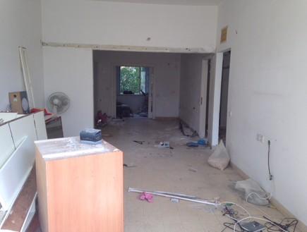 דירה בנורדאו, עיצוב מיכל גלברט דורון, לפני השיפוץ - 4