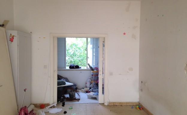 דירה בנורדאו, עיצוב מיכל גלברט דורון, לפני השיפוץ - 5 (צילום: מיכל גלברט דורון)