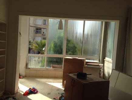 דירה בנורדאו, עיצוב מיכל גלברט דורון, לפני השיפוץ - 10