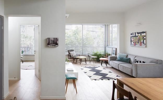 דירה בנורדאו, עיצוב מיכל גלברט דורון, מטבח - 3 (צילום: שירן כרמל)