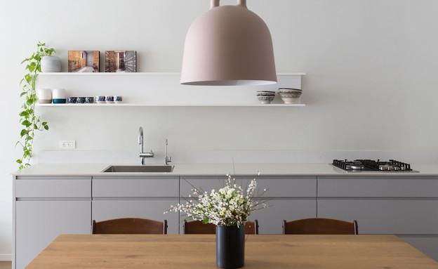 דירה בנורדאו, עיצוב מיכל גלברט דורון, מטבח - 4 (צילום: שירן כרמל)