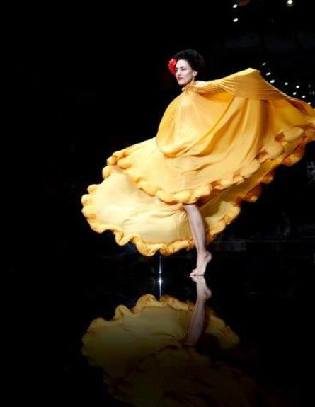 רונית אלקבץ בשבוע האופנה