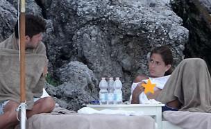 קורל סימנוביץ' וסרג'י רוברטו בתמונות חושפניות (צילום: מתוך אתר thefappeningblog)