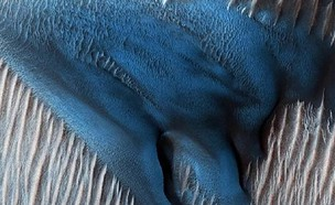 חול כחול (צילום: Twitter/NY Post)