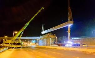 כך נראה סיום בניית מחלף חדש בקריית גת (צילום: נתיבי ישראל, חדשות)