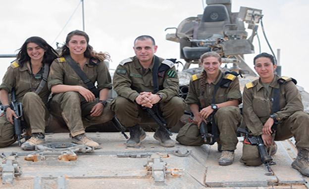 ארבע לוחמות סיימו קורס מפקדות טנקים