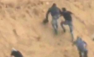 """צה""""ל ירה לעבר חוליה שניסתה לחדור מעזה (צילום: חדשות)"""