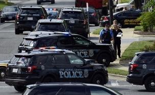תיעוד מהזירה רגעים אחרי הירי (צילום: AP, חדשות)
