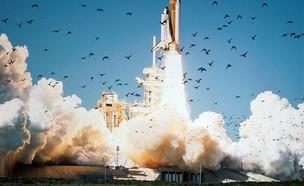 מעבורת חלל (צילום: Twitter/SpaceflightNow)