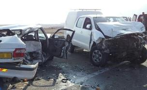 תוצאה של תאונת דרכים. ארכיון (צילום: דוברות מדא, חדשות)
