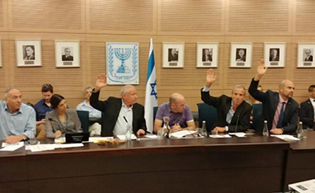 ועדת החוץ והביטחון של הכנסת (צילום: חדשות)