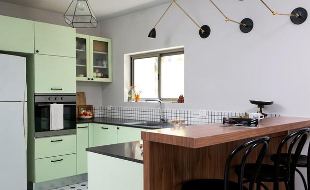 מטבחים צבעוניים, 6 עיצוב קרן בר (צילום: שירן כרמל)