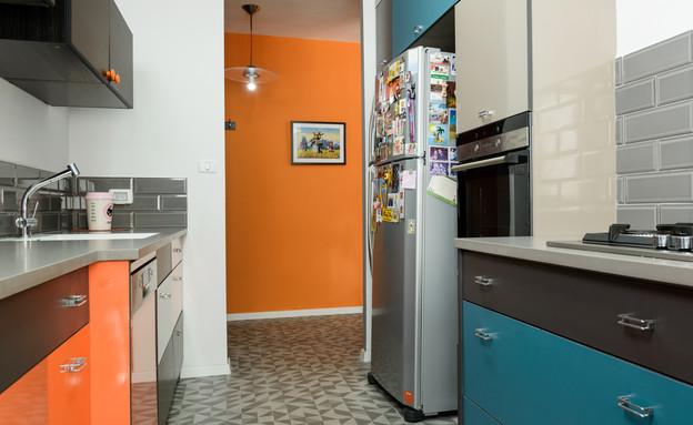 מטבחים צבעוניים, 10 עיצוב שני רינג (צילום: אדריאן דודה)