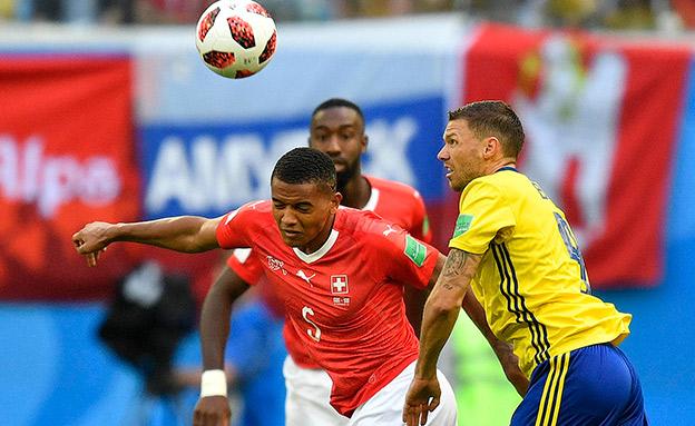 שוויץ לא הצליחה לעמוד בלחץ של הצהובים (צילום: AP, חדשות)