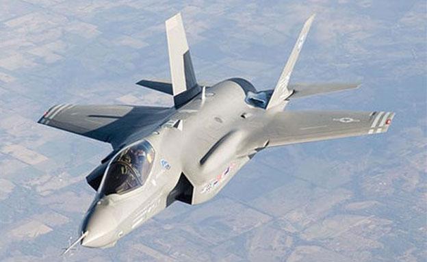 מטוס החמקן המתקדם (צילום: אתר חיל האוויר, חדשות)