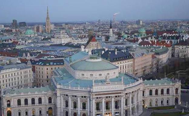 העיר וינה, ארכיון (צילום: Sky News, חדשות)
