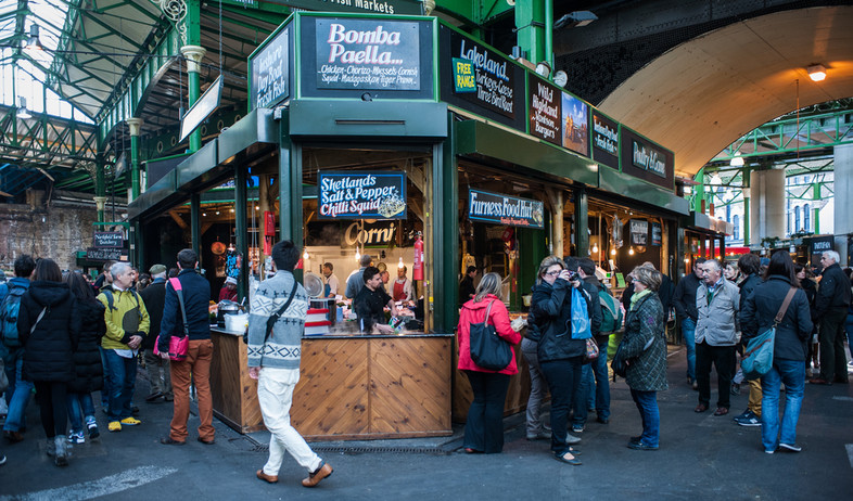 Borough Market (צילום: pcruciatti, shutterstock)