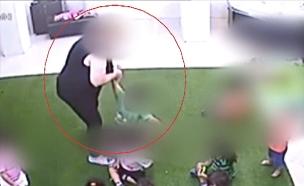 תיעוד התעללות בגן ילדים (צילום: החדשות)